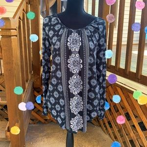Maurices Printed Tunic Top